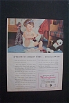 1944 Dual Ad: Westinghouse Appliance & Army Supplies