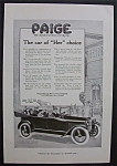 1916 Paige  Automobile