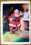 Click to view larger image of 1963 Coca Cola (Coke) With Santa Claus Reading Note (Image1)