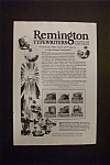 Click here to enlarge image and see more about item 1994: Vintage Ad: 1926 Remington Typewriters