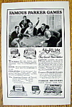 Click to view larger image of Vintage Ad: 1927 Parker Brothers Games (Image1)
