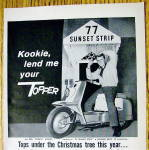 """Click to view larger image of 1959 Harley Davidson Topper with Edd """"Kookie"""" (Image2)"""