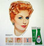 Click to view larger image of 1964 Lustre Creme Shampoo with Deborah Kerr (Image2)
