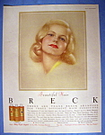 Vintage Ad: 1958 Breck Shampoo with the Breck Woman