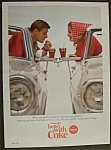 1965 Coca Cola (Coke) with Woman & Man in Their Cars