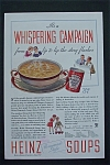 1934 Heinz Soups With Whispering Campaign