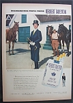 1951 Herbert Tareyton Cigarettes with Horsewoman