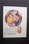 1931 Camel Cigarettes with Woman Holding a Candle