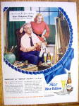 Click here to enlarge image and see more about item 2279: 1948 Pabst Blue Ribbon Beer By James Montgomery Flagg