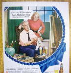 Click to view larger image of 1948 Pabst Blue Ribbon Beer By James Montgomery Flagg (Image2)