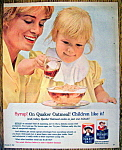 Click to view larger image of Vintage Ad: 1962 Quick Quaker Oats (Image1)