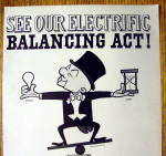 Click to view larger image of Vintage Ad: 1962 General Electric Bulbs w/Mister Magoo (Image2)