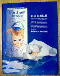 Vintage Ad: 1963 Northern Towels
