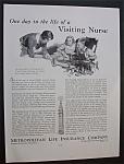 1934 Metropolitan Life Insurance Company w/Nurse & Boy