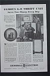 Vintage Ad: 1936 General  Electric Thrift Unit