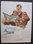 1946 Air Lines of the United States with Man & Children
