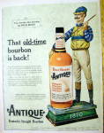 Click to view larger image of 1959 Four Roses Antique Whiskey with the Money Rider (Image2)
