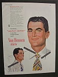 Click to view larger image of 1948 Dual Ad: Van Heusen Shirts & Old  Thompson (Image1)