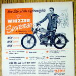 Click to view larger image of 1950 Whizzer Sportsman Motor Bike (Image2)