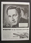 Vintage Ad: 1949 Webster Cigars with Mervyn Leroy