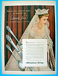 Click here to enlarge image and see more about item 2416: Vintage Ad: 1949 International Sterling