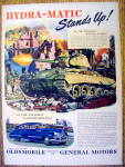 Vintage Ad: 1945 Oldsmobile Hydra Matic Drive