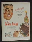 1951  Old  Sunny  Brook  Whiskey
