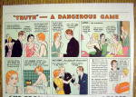 Click to view larger image of 1934 Rinso & Lifebuoy Soap with Truth-A Dangerous Game (Image2)