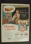 Click to view larger image of 1951 Dual Ad:   Wilson's  Mor  &  Texaco (Image1)