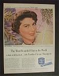 1951 Lustre-Creme Shampoo with Ava Gardner