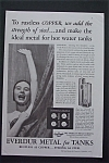 Vintage Ad: 1935 Everdur Metal For Tanks