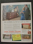 1951  Lane  Cedar  Chests