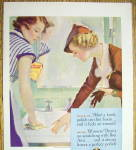 Click to view larger image of 1935 Bon Ami Powder with Woman Who Used Powder on Sink (Image2)