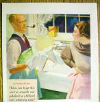 Click to view larger image of 1935 Bon Ami Powder with Husband Doing Dishes (Image2)