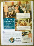 Click to view larger image of 1935 Chipso Quick Suds with a Woman & 7 Children (Image1)