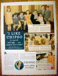 1935 Chipso Quick Suds with a Woman & Her Family