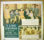 Click to view larger image of 1935 Chipso Quick Suds with a Woman & Her Family (Image2)