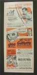 1952 Gillette Super-Speed Razor w/ Howard  Hill
