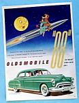 1950 Green Oldsmobile 88 with Rocket