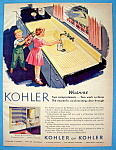 Click to view larger image of Vintage Ad: 1955 Kohler Plumbing Fixtures (Image1)