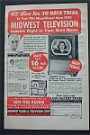 Vintage Ad: 1950 Midwest Television