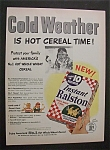 1952  Instant  Ralston  Cereal