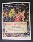 1952  Movie  Ad  for  Blackbeard  The  Pirate