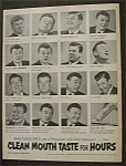 Vintage Ad: 1952  Pepsodent  with  Arthur  Godfrey