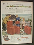 1952  Samsonite  Luggage