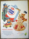 1955 Post Sugar Crisp w/3 Bears Doing Different Things