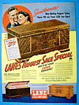 Vintage Ad: 1939 Lane Cedar Hope Chest