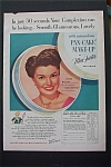 1951 Max Factor Pan Cake Make Up with Esther Williams