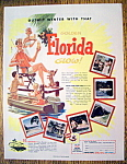 Vintage Ad: 1954 Golden Florida Glow