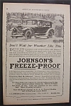 1919  Johnson's  Freeze  Proof